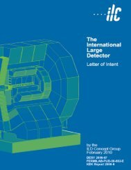 The International Large Detector - Fermilab Information Resources ...