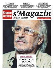 s'Magazin usm Ländle, 13. August 2017