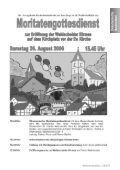 Sommer 2006 - Evangelischen Kirchengemeinde Wahlscheid - Page 5