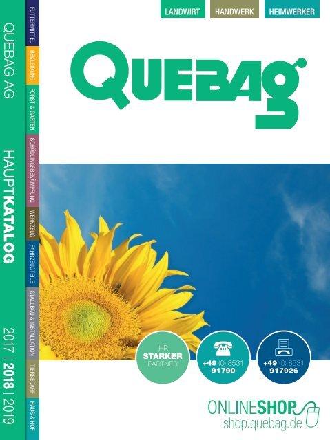 Quebag Hauptkatalog 2017
