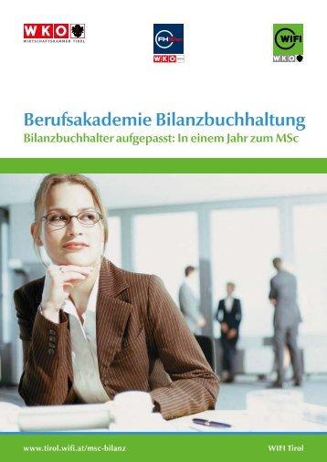Berufsakademie Bilanzbuchhaltung