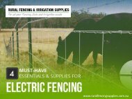 4 Must-Have Essentials for Electric Fencing in Perth