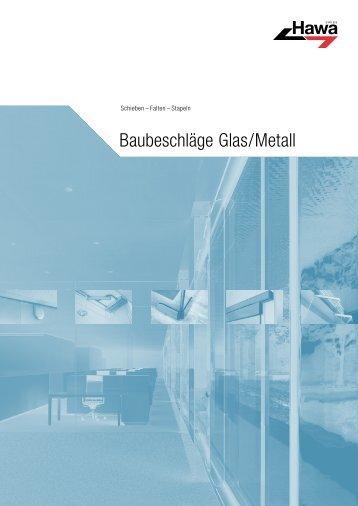 HAWA Teilkatalog Glas / Metall