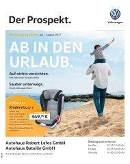 VW Der Prospekt 07-08 2017