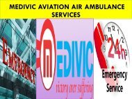 Medivic Aviation Air Ambulance from Bagdogra to Delhi