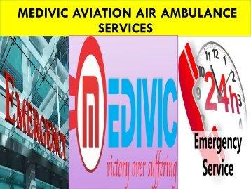 Medivic Aviation Air Ambulance from Bagdogra to Delhi