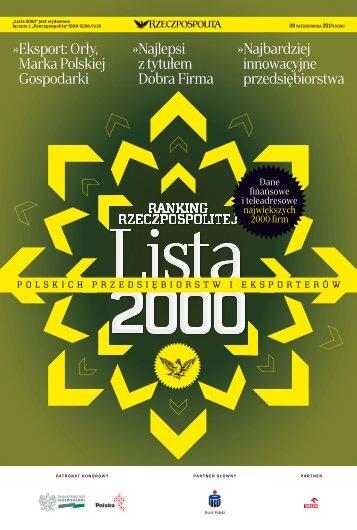 Lista 2000 - Edycja 2014