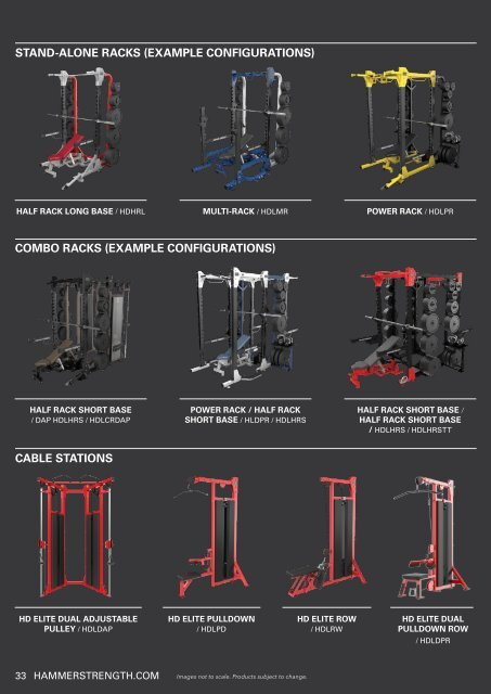 STAND-ALONE RACKS (EXAMPL