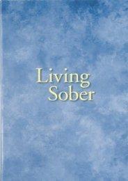 Living Sober