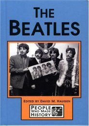 The Beatles (People who made history)