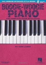 Hal Leonard Keyboard Style Series: Boogie-Woogie Piano