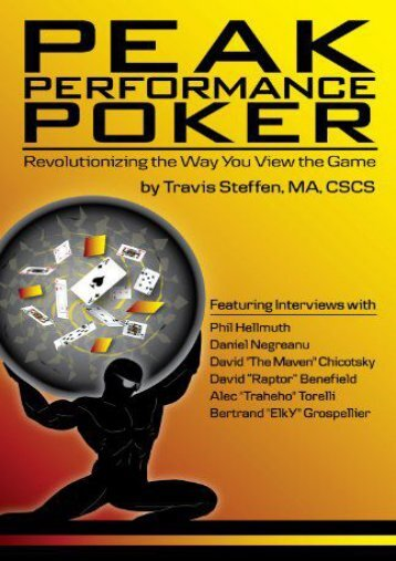 Peak Performance Poker: Revolutionizing the Way You View the Game
