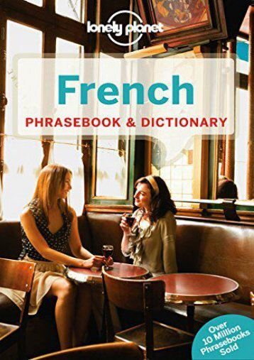 Lonely Planet French Phrasebook   Dictionary (Lonely Planet Phrasebook and Dictionary)