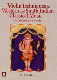 Violin Techniques in Western and South Indian Classical Music: A Comparative Study
