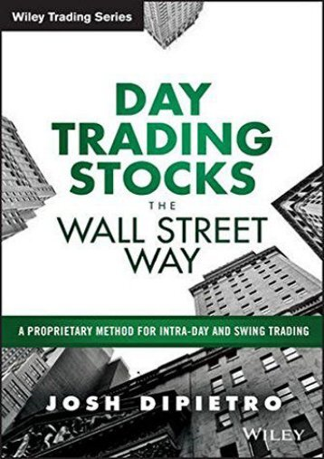 Trading system and methods pdf