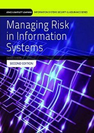 Managing Risk in Information Systems (Information Systems Security   Assurance)