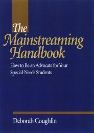 The Mainstreaming Handbook: How to be an Advocate for Your Special-needs Student