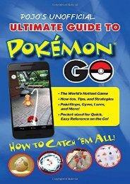 Pojo s Unofficial Ultimate Guide to Pokemon Go: How to Catch  em All!