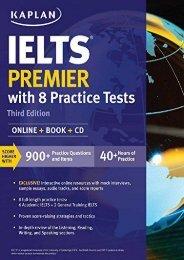 Ielts Premier: Online + Book + CD (Kaplan Test Prep)