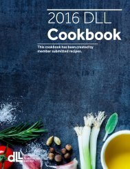 DLL Cookbook Final
