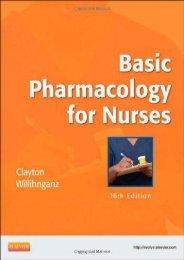 Basic Pharmacology for Nurses, 16e