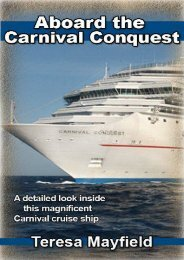 Carnival Cruise : Aboard The Carnival Conquest - A detailed look inside this magnificent Carnival cruise ship