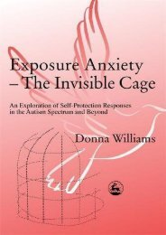 Exposure Anxiety - The Invisible Cage: An Exploration of Self-Protection Responses in the Autism Spectrum and Beyond