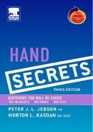 Hand Secrets, 3e