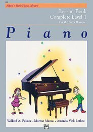 Alfred s Basic Piano Library: Lesson Book Complete Level 1