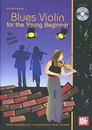 Blues Violin for the Young Beginner (Mel Bay Presents)