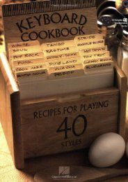 Keyboard Cookbook: Recipes for Playing 40 Styles [With CD]