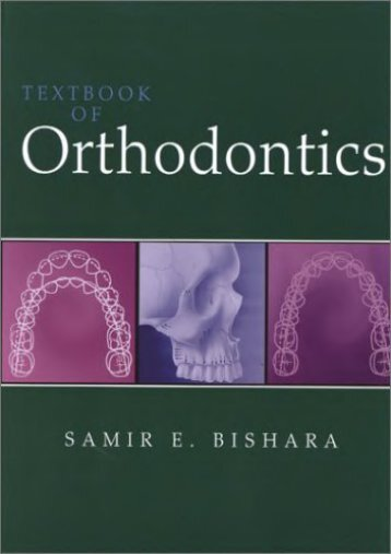 Textbook of Orthodontics, 1e