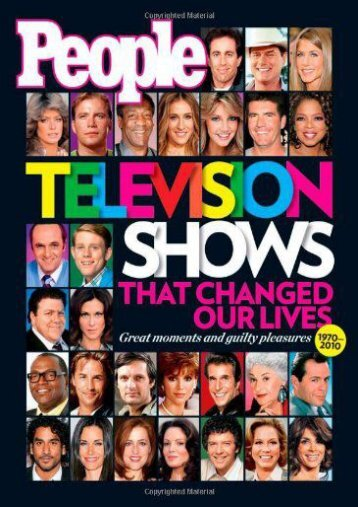People TV Shows That Changed Our Lives