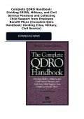 Complete QDRO Handbook: Dividing ERISA, Military, and Civil Service Pensions and Collecting Child Support from Employee Benefit Plans (Complete Qdro Handbook: Dividing Erisa, Military, Civil Service) - Page 2