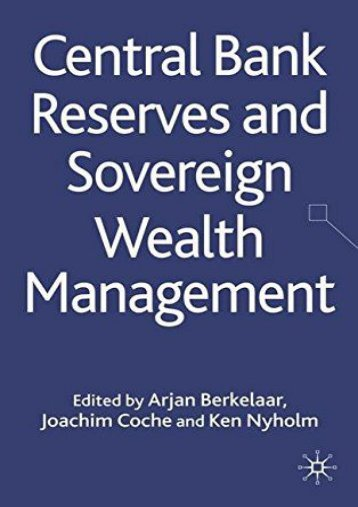 Central Bank Reserves and Sovereign Wealth Management