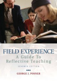 Field Experience: A Guide to Reflective Teaching