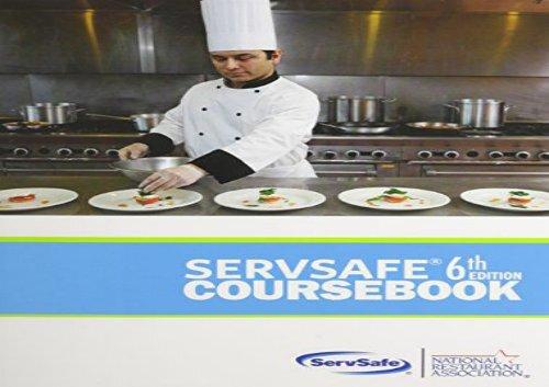 Servsafe coursebook (6th edition).