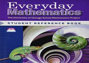 Everyday Mathematics: Student Reference Book