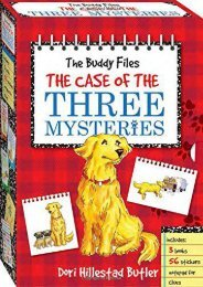The Buddy Files Boxed Set #1-3