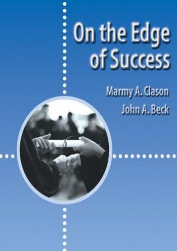 On the Edge of Success (Wadsworth College Success)
