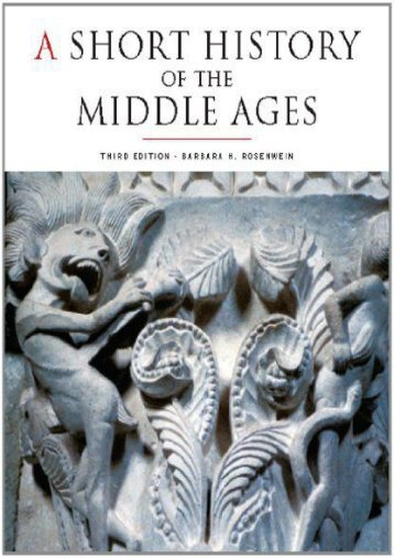 A Short History of the Middle Ages (UTP Higher Education)