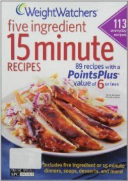 Weight Watchers 5 Ingredient 15 Minute