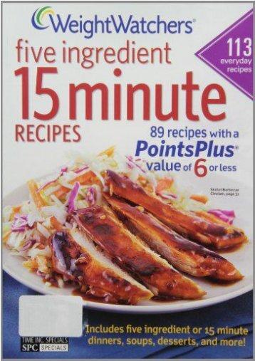 Weight Watchers 5 Ingredient 15 Minute