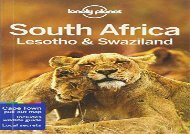 Lonely Planet South Africa, Lesotho   Swaziland (Travel Guide)