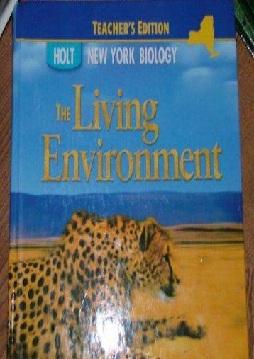 Biology New York Grades 9-12: The Living Environment