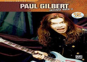 Paul Gilbert -- Intense Rock II: Book   CD (Cpp Media Group Video Transcription)