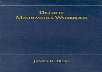 Discrete Math Workbook: Interactive Exercises