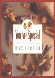 You Are Special (Max Lucado s Wemmicks)