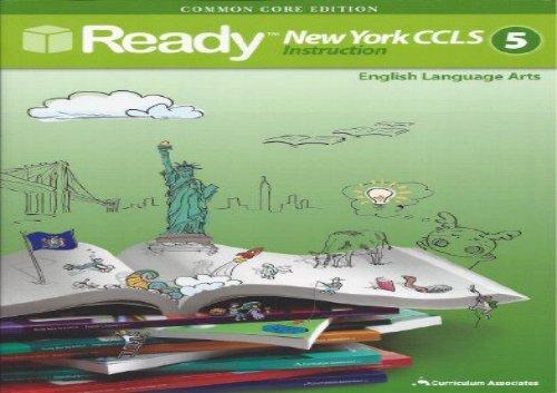 Ready Common Core New York Ccls Grade 5 Ela