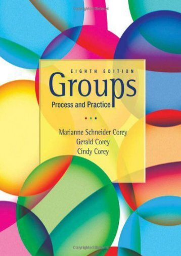 Groups: Process and Practice